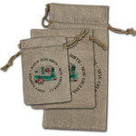 Camper Burlap Gift Bags (Personalized)