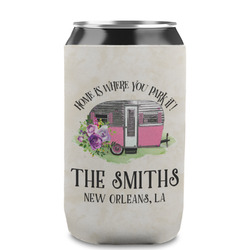Camper Can Sleeve (12 oz) (Personalized)