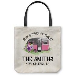 Camper Canvas Tote Bag (Personalized)