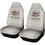 Camper Car Seat Covers (Set of Two) (Personalized)