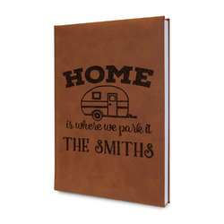 Camper Leatherette Journal (Personalized)
