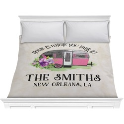 Camper Comforter - King (Personalized)