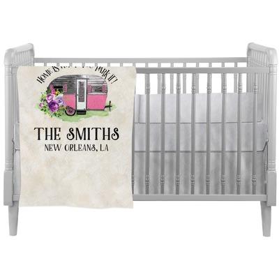 Camper Crib Comforter / Quilt (Personalized)