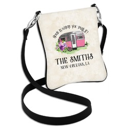 Camper Cross Body Bag - 2 Sizes (Personalized)
