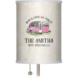"""Camper 7"""" Drum Lamp Shade (Personalized)"""
