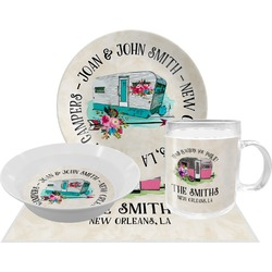 Camper Dinner Set - 4 Pc (Personalized)