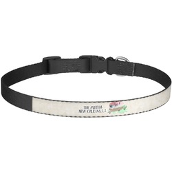 Camper Dog Collar - Large (Personalized)