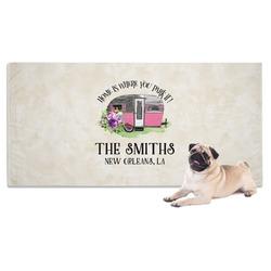 Camper Pet Towel (Personalized)