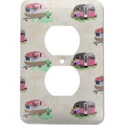 Camper Electric Outlet Plate (Personalized)