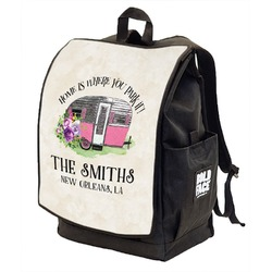 Camper Backpack w/ Front Flap  (Personalized)