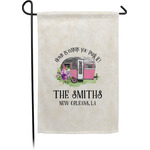 Camper Garden Flag - Single or Double Sided (Personalized)