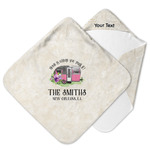 Camper Hooded Baby Towel (Personalized)