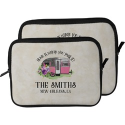 Camper Laptop Sleeve / Case (Personalized)
