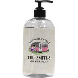 Camper Plastic Soap / Lotion Dispenser (Personalized)