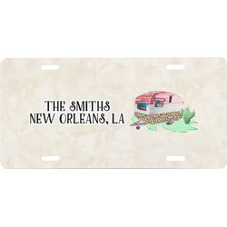 Camper Front License Plate (Personalized)