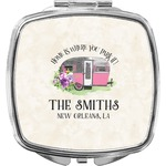 Camper Compact Makeup Mirror (Personalized)