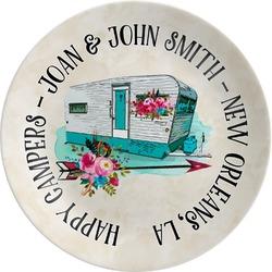 Camper Melamine Plate (Personalized)