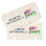 Camper Mini/Bicycle License Plates (Personalized)