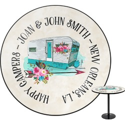 Camper Round Table (Personalized)