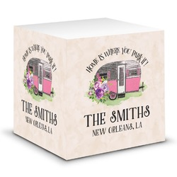 Camper Sticky Note Cube (Personalized)