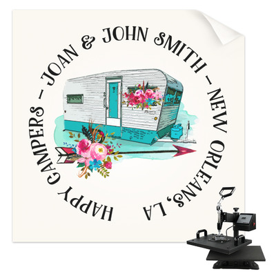 Camper Sublimation Transfer (Personalized)