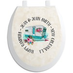Camper Toilet Seat Decal (Personalized)
