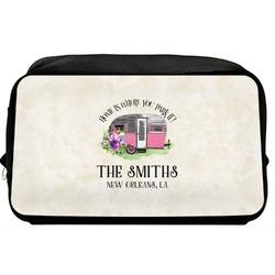 Camper Toiletry Bag / Dopp Kit (Personalized)