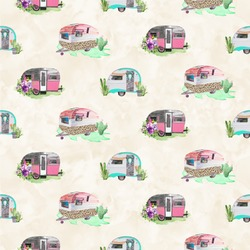 Camper Wallpaper & Surface Covering