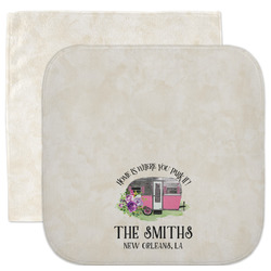 Camper Facecloth / Wash Cloth (Personalized)