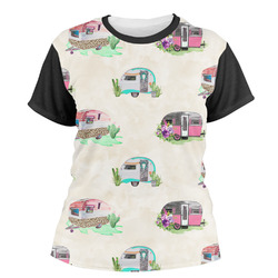 Camper Women's Crew T-Shirt (Personalized)