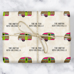 Camper Wrapping Paper (Personalized)