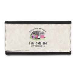 Camper Leatherette Ladies Wallet (Personalized)