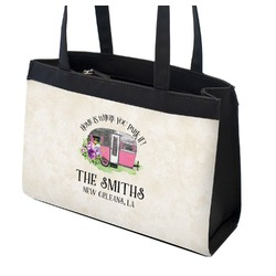 Camper Zippered Everyday Tote (Personalized)