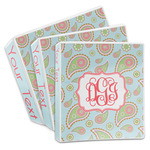 Blue Paisley 3-Ring Binder (Personalized)