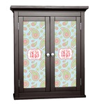 Blue Paisley Cabinet Decal - Custom Size (Personalized)