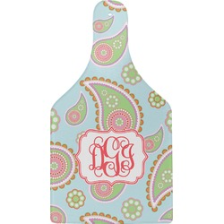 Blue Paisley Cheese Board (Personalized)