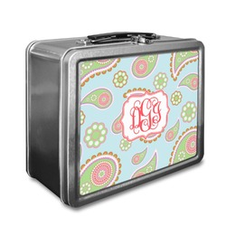 Blue Paisley Lunch Box (Personalized)