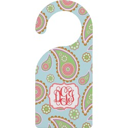 Blue Paisley Door Hanger (Personalized)