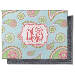 Blue Paisley Microfiber Screen Cleaner (Personalized)