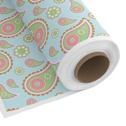 Blue Paisley Custom Fabric - Spun Polyester Poplin (Personalized)