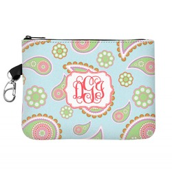 Blue Paisley Golf Accessories Bag (Personalized)