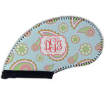 Blue Paisley Golf Club Cover (Personalized)