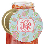 Blue Paisley Jar Opener (Personalized)