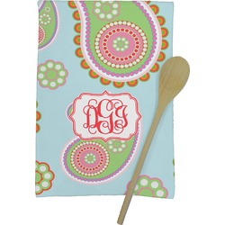 Blue Paisley Kitchen Towel - Full Print (Personalized)