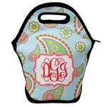 Blue Paisley Lunch Bag w/ Monogram