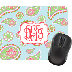 Blue Paisley Mouse Pad (Personalized)