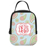 Blue Paisley Neoprene Lunch Tote (Personalized)