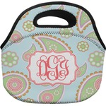Blue Paisley Lunch Bag (Personalized)