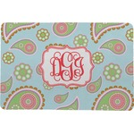 Blue Paisley Comfort Mat (Personalized)