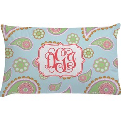 Blue Paisley Pillow Case (Personalized)